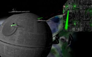 Borg vs The Empire by FooDogTenchi