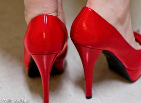 Red High Heels by princessbethany
