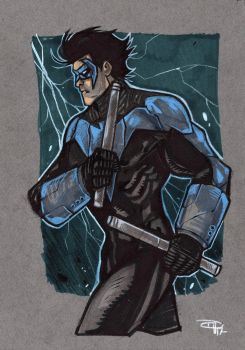 Nightwing by DenisM79