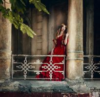Lady in red by Anita-Lust