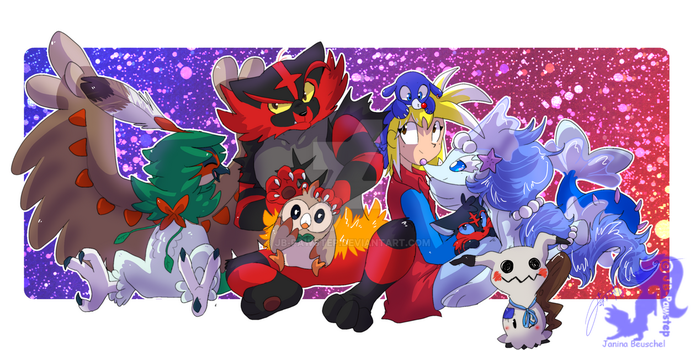 New Team Members - Pokemon by JB-Pawstep