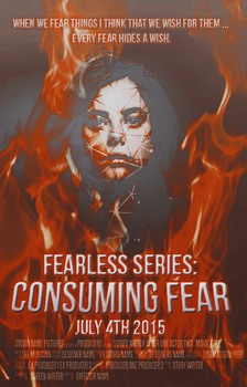 Consuming Fear Movie Poster by regulusblack1994
