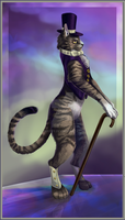 Jeoffry the Cat by InkFey