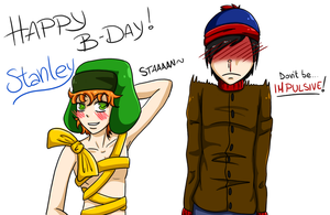 Stan Marsh B-Day by KiraMalfoy