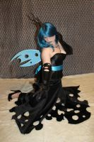 My little pony Queen Chrysalis Cosplay 1 by Flitzichen