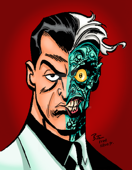 Two Face by Bruce Timm by Luzproco