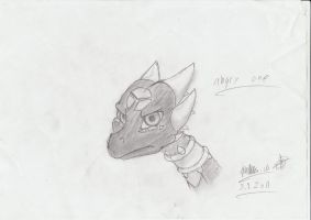 Cynder not amused by afromark