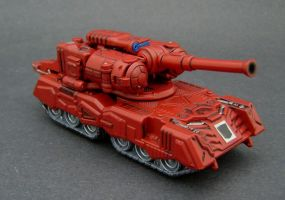 Warpath Tank Mode 2 by Jin-Saotome