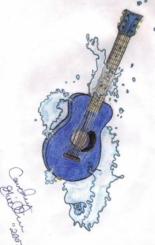 Future guitar tattoo by GenerationGwilly
