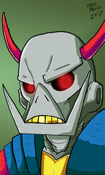 Deaths Head by Demonology7789