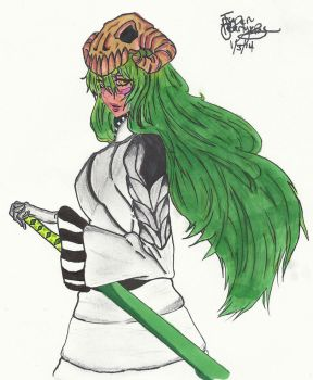 Neliel Colored by Pearlykins