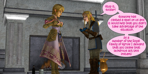 Link is taking advantage by Edumail