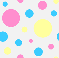 Pastel Dots 2 by MikariStar