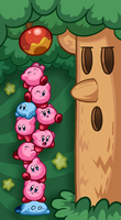 Kirby Mass Attack by Torkirby