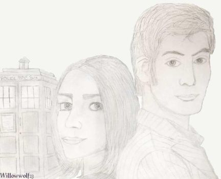 The Doctor and Rose by David-Tennant-Fans