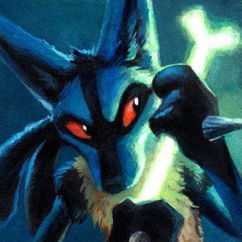 Lucario by kenket