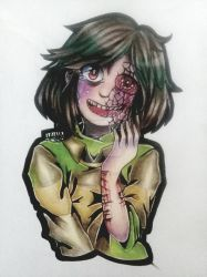 The Demon You Are | Spirit!Chara (or demon) by Uniquelypeculiar