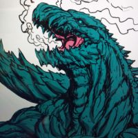 Godzilla: 2017 (color prev) by Gabe-TKE