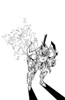 TF MTMTE 16 cover lineart by markerguru