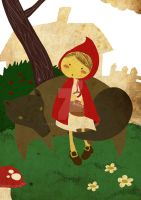 Little Red Riding Hood by PixelCloud