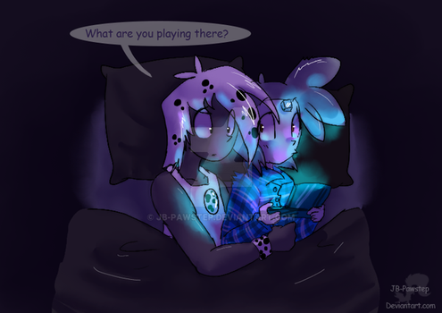What Are You Playing? by JB-Pawstep