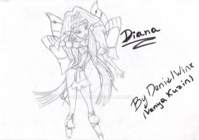 Diana Earth Fairy from Winx by DanielWinx