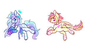 Pastel Gore MLP Auction - CLOSED 2/2 - by CHEESE-CHEDDAR