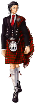 P3 - Jamie MacRath - Dress Kilt by MaraAum