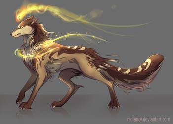 Wolf adoptable [CLOSED] by Radiancy