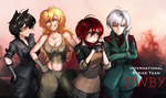 RWBY WW2: International Strike Team: RWBY by ThyBlake