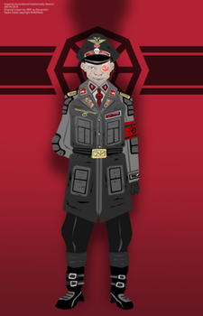 Duzhonevian Guard Commissar by RvBOMally