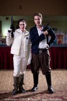Leia and Han by thatbloodypirate