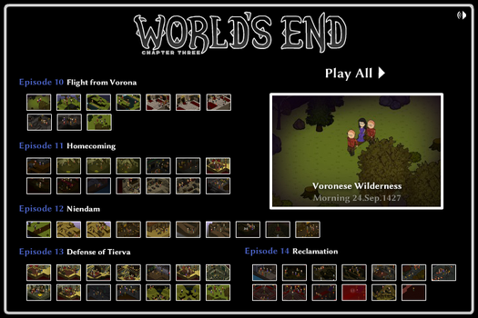World's End Chapter 3 Story Mode by MezzanineStairs