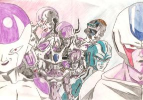 Freeza And Cooler '07 by KiHunter