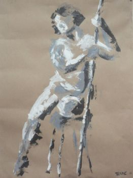 Figurative Painting by fizzTAQ