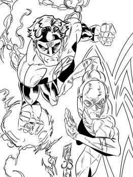 The Brave an the Bold INKS by JamesLeeStone