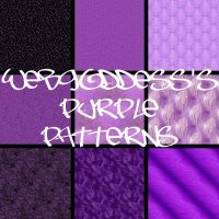 Purple Patterns by webgoddess