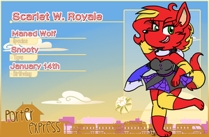 Scarlet's Villager ID-For PE! by ScarletNekolita
