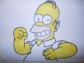 Homer Simpson by sgtjack2016