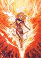 New Dark Phoenix by Thegerjoos