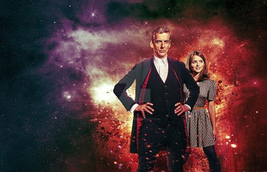 DOCTOR WHO SERIES 8 Wallpaper (W.I.P) by MrPacinoHead