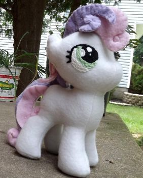 Handmade My Little Pony Sweetie Belle AVAILABLE! by Slipsntime