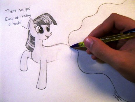 Drawing is Magic by Peruserofpieces