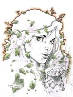 Poison Ivy commission by aethibert