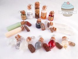 Potter inspired potions v2 -update by ilikeshiniesfakery