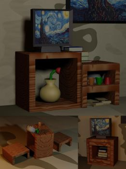 A 3ds max assignment... by perushinkov
