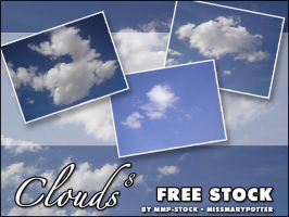 FREE STOCK, Clouds 8 by mmp-stock