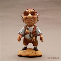 HOGGLE Sculpture Labyrinth FANART by buzhandmade