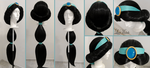 COMMISSION: Jasmine's wig by LayzeMichelle