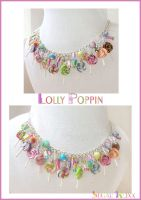 Lollipoppin necklace by SugarRoxx
